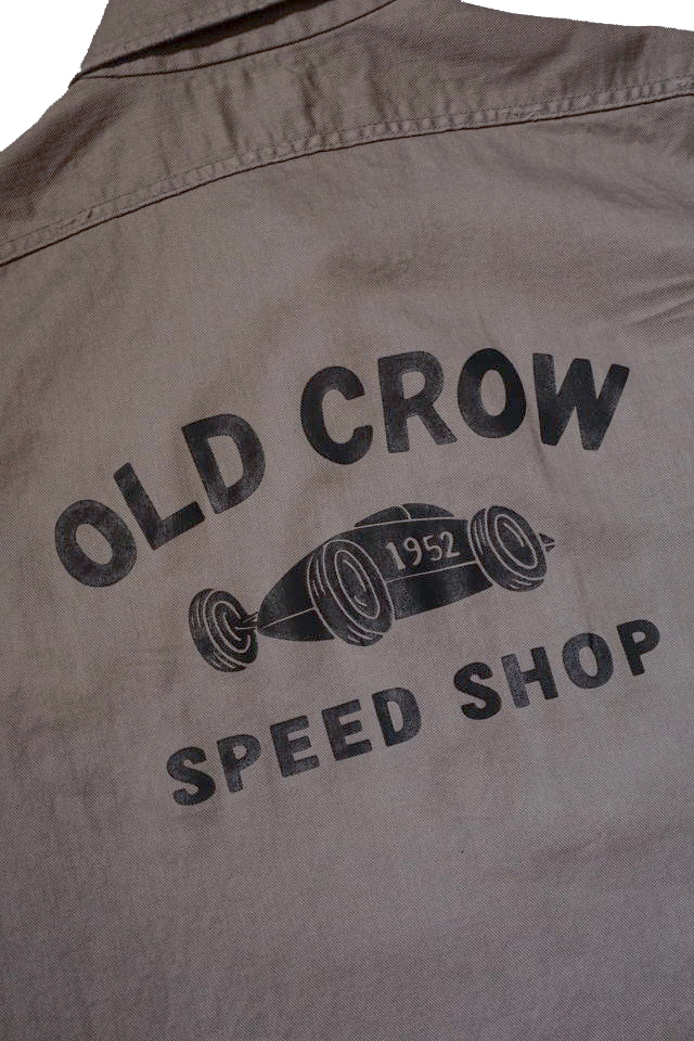 OLD CROW BELLY TANK - L/S SHIRTS GRAY