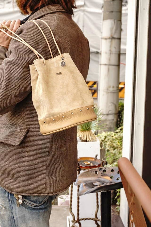 "PEANUTS & Co. Daily Bag ""STUDS"" BEIGE"