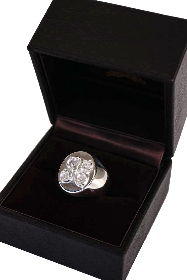 PEANUTS & Co. Signet ring Large All Silver