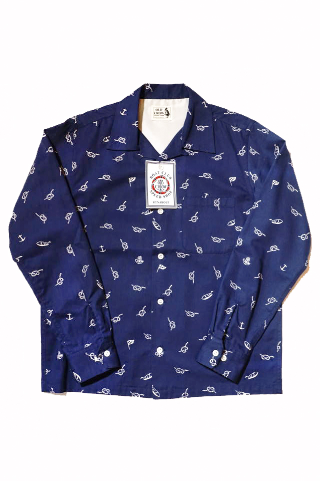 OLD CROW RUNABOUT - L/S SHIRTS