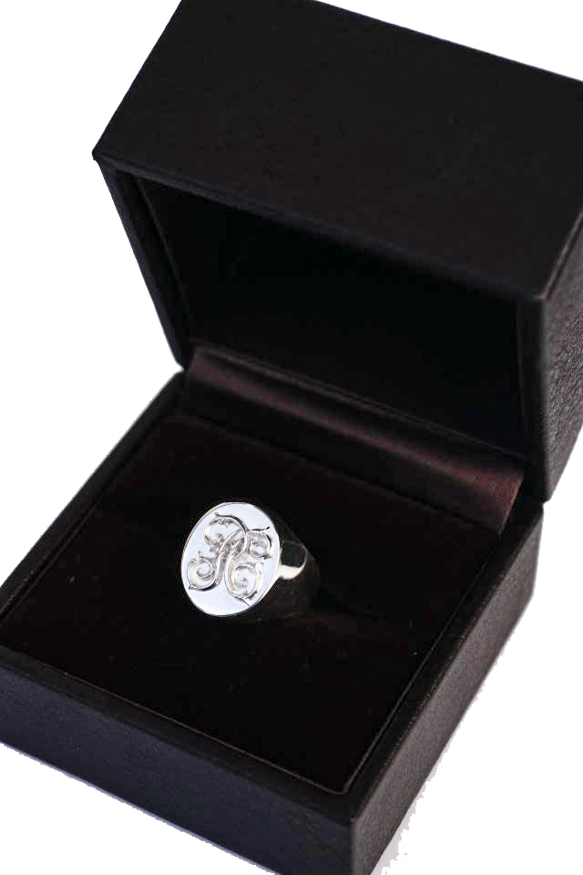 PEANUTS & Co. Signet ring Small All Silver