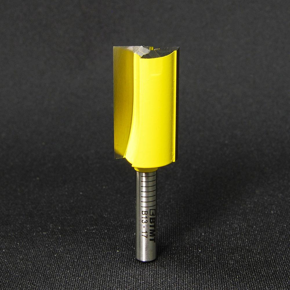 B13-17 刃径17mm ストレートビット(プランジ刃付き) 6mm軸  《送料無料》