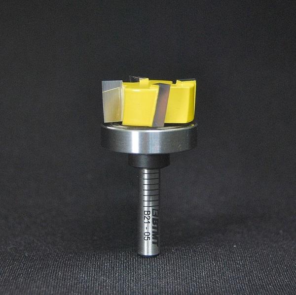 B21-05  刃径25mm ミックス4枚刃「大入れ&プレナー」ビット 6mm軸