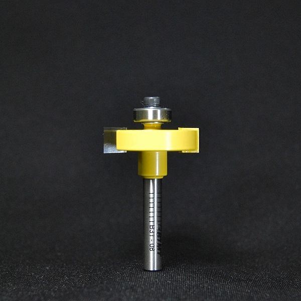 B31-08  幅8mm 横溝ビット 6mm軸  《送料無料》
