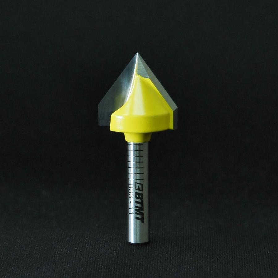 B33-11 72度 V溝ビット 6mm軸  《送料無料》