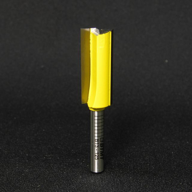 B13-125 刃径12.5mm ストレートビット(プランジ刃付き) 6mm軸  《送料無料》