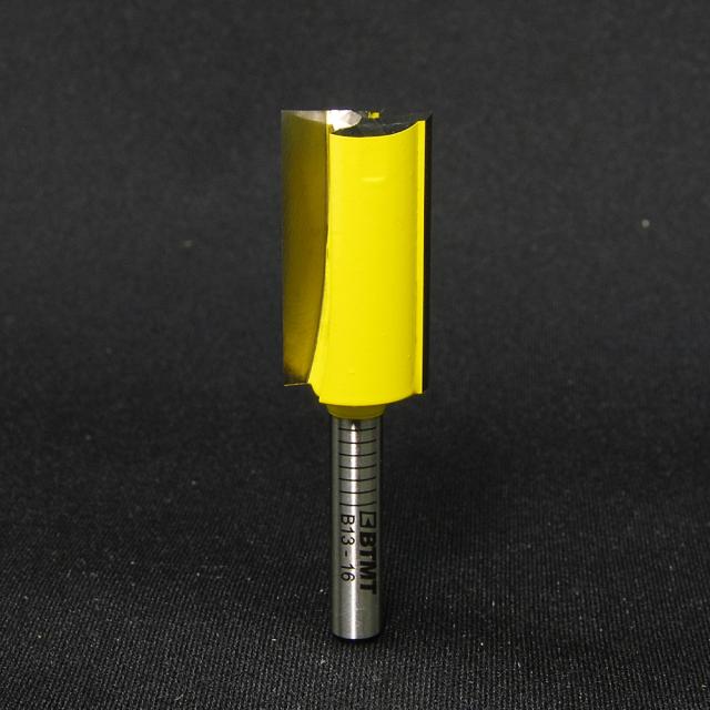 B13-16 刃径16mm ストレートビット(プランジ刃付き) 6mm軸  《送料無料》
