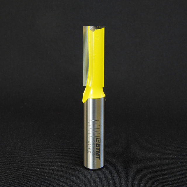 B14-11 刃径11mmストレートビット(プランジ刃付き) 12mm軸  《送料無料》