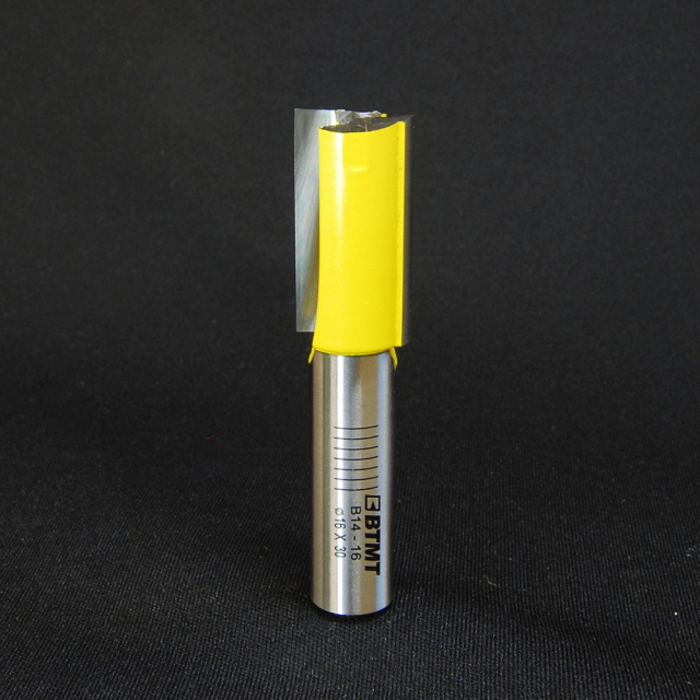 B14-16 刃径16mm ストレートビット(プランジ刃付き) 12mm軸  《送料無料》