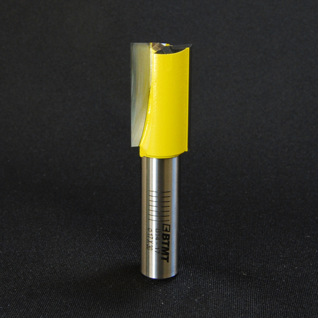 B14-17 刃径17mm ストレートビット(プランジ刃付き) 12mm軸  《送料無料》