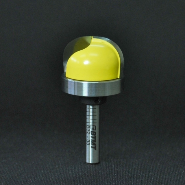 B32-33 刃径25mm 10R ディッシュビット(ベアリング付き)6mm軸  《送料無料》