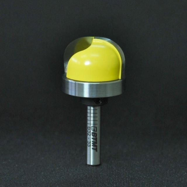 B32-33 刃径25mm 10R ディッシュビット(ベアリング付き)6mm軸