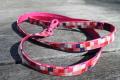 <堀商店>桜のようなかわいいピンクのリード(Pixel Lead)