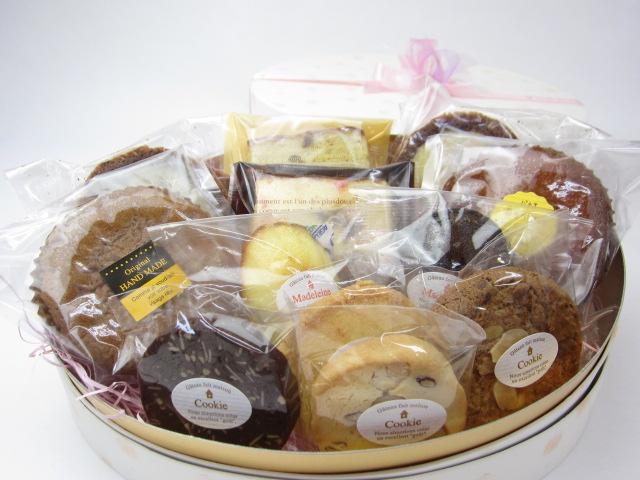 焼き菓子詰め合わせ 12個入 ギフトBOX入(中)