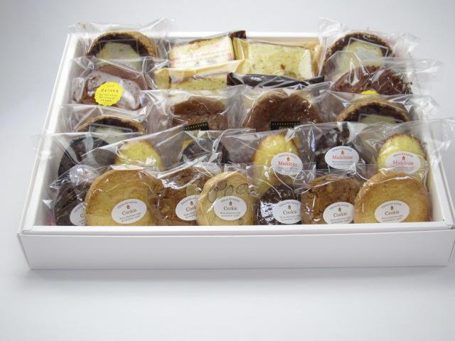焼き菓子詰め合わせ 24個入 ギフトBOX入(大)