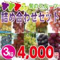 旬のフルーツ詰め合わせセット3kg