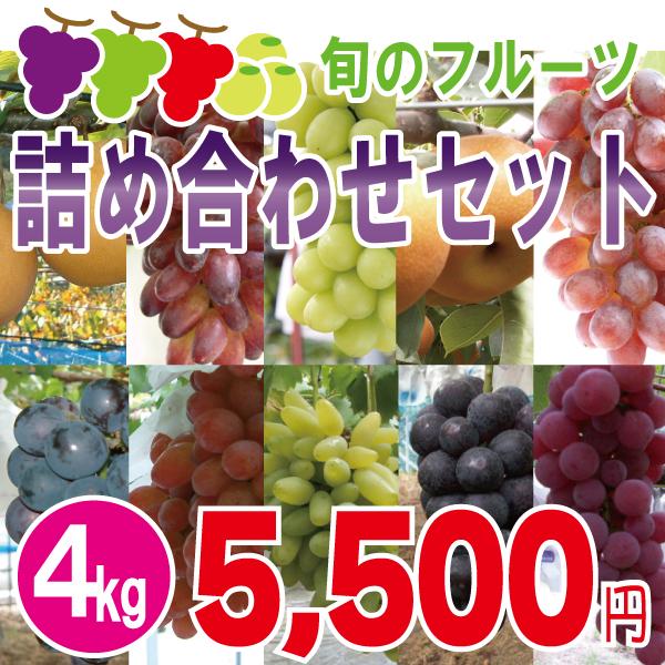 旬のフルーツ詰め合わせセット4kg