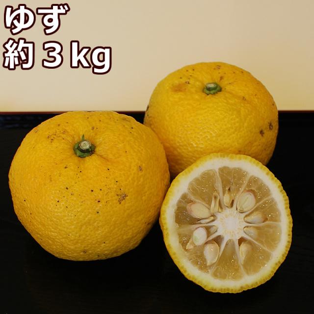 高知県産ゆず3kg