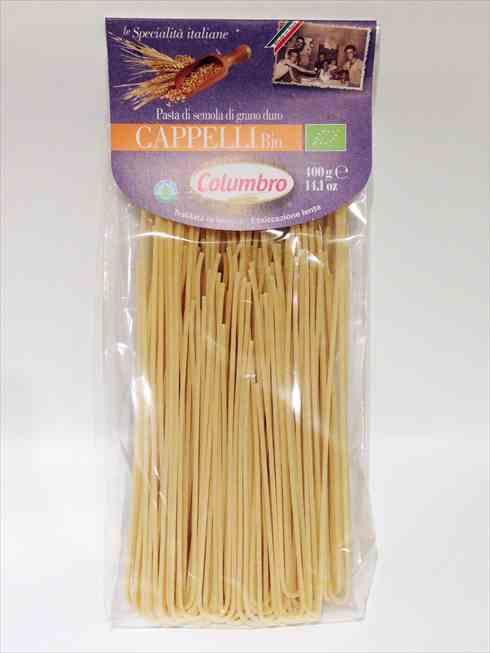 有機セナトーレカッペッリ小麦セモリナ スパゲッティ 400g