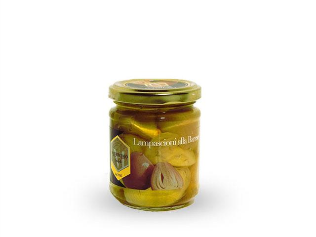 プーリア産 ムスカリオニオンのオイル漬け /130g