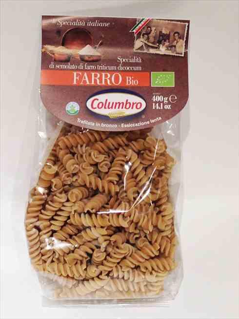 有機スペルト小麦セモリナ フジッリ 400g