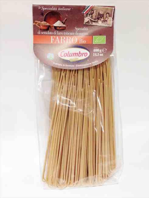 有機スペルト小麦セモリナ スパゲッティ 400g
