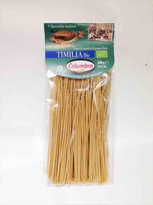 有機ティミリアデュラム小麦セモリナ スパゲッティ 400g