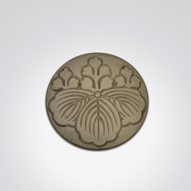 家紋コースター(豊臣秀吉)