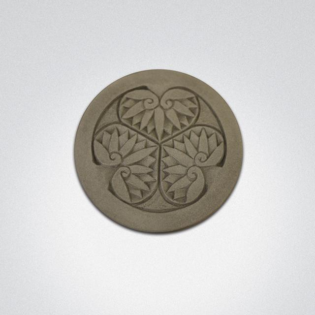 家紋コースター(徳川家康)