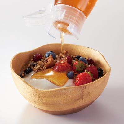 純粋蜂蜜アルゼンチン500gヨーグルト