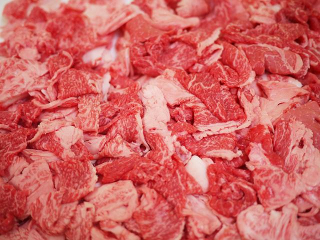 鹿児島黒牛 モモバラ切り落とし 1000g(250gx4 冷凍品) すき焼き・鉄板焼き・牛丼【16011】