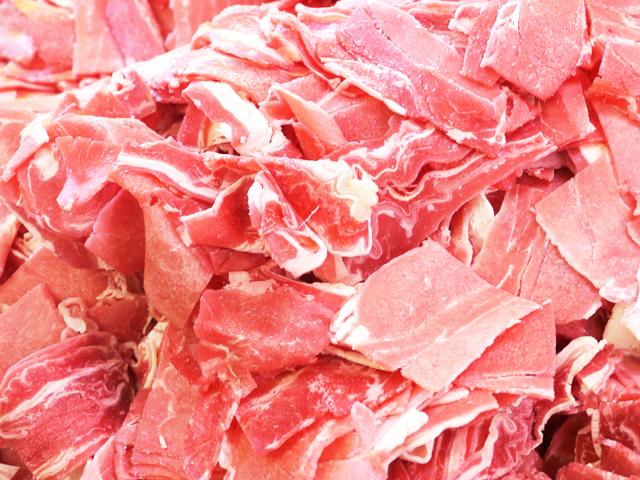 九州牧草牛 牛切り落とし 250g冷凍