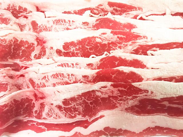 NZ産牧草牛バラうす切り