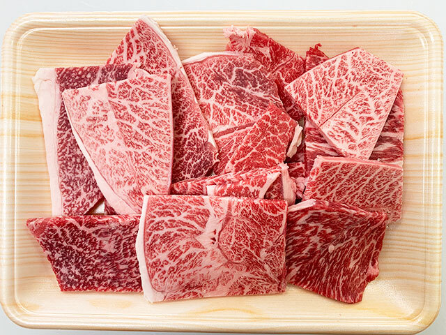 おおいた和牛ウデ肉まるごと焼肉用チップス