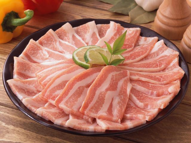 B:アンデス高原豚 豚バラ ブロック 250g×4