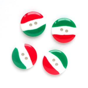 国旗 【20mm】×4個セット イタリア(33)