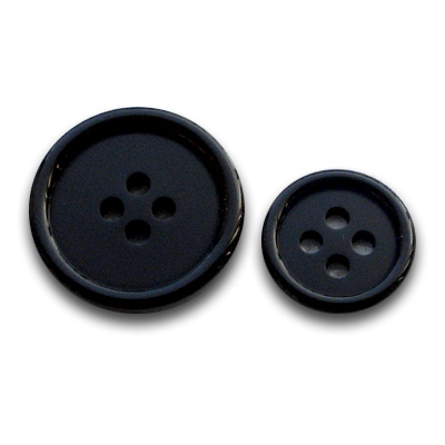 高級フォーマルボタン THE BLACK 3(21mm)