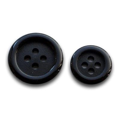 高級フォーマルボタン THE BLACK 4(15mm)