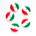 国旗 【15mm】×5個セット イタリア(33)