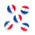 国旗 【15mm】×5個セット フランス(34)