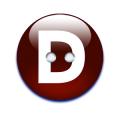 アルファベットボタンD