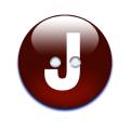 アルファベットボタンJ