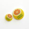 なまえのぼたん cute3-mix (3393) グレープフルーツ (01) 20個入り