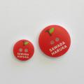 なまえのぼたん cute3-mix (3393) リンゴ (02) 20個入り