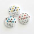 なまえのぼたん cute3-23mm (3392) 星セット (06) 15個入り