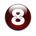 数字ボタン8