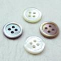 【本貝シャツ用】THE SHELL 1 白蝶貝 (25mm)