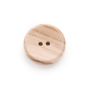 【木ボタン】WOOD 2 オリーブ(11.5mm)