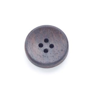 【木ボタン】WOOD 3 コクタン(18mm)