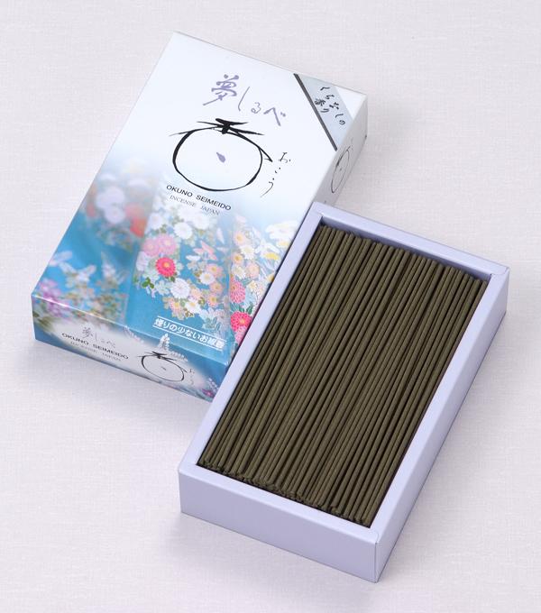 [夢しるべ] くちなしの香り(大) = くちなしの甘くやさしい香りただよう微煙タイプのお線香 送料無料